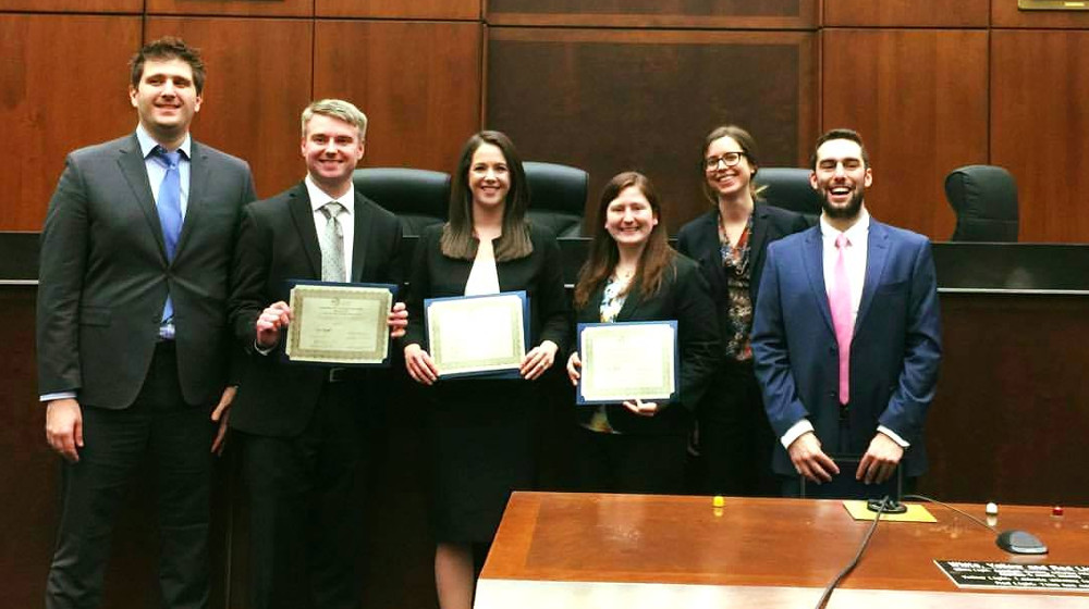 Loyola places in Saul Lefkowitz Moot