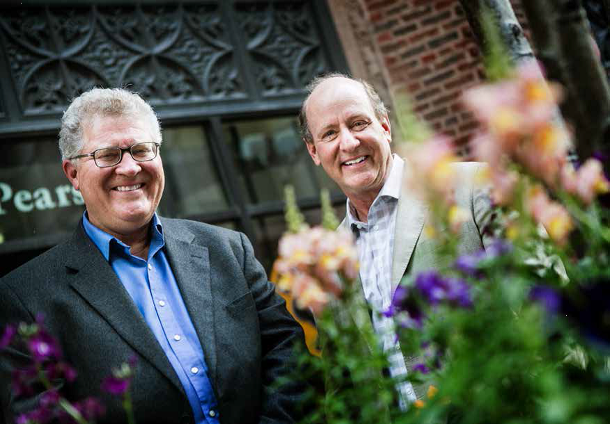 Loyola alumni David Miller and Dr. Stephen Rivard profiled in <em>Crain's</em> for their business Iroquois Valley Farm