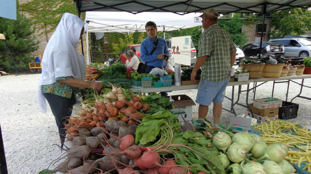 New location, new vendors: Loyola's Farmers Market brings more to your table